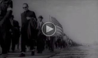 Vés a: VÍDEO «Ara és l'hora» fa una crida a la Via Lliure amb mobilitzacions històriques