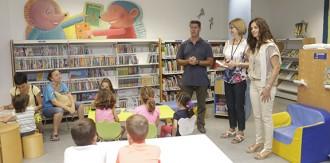 La Biblioteca de Cambrils tanca la temporada d'estiu amb un 'photocall' tematitzat