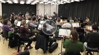 Vés a: L'Orquestra del Liceu enregistra la banda sonora d'«Anacleto»