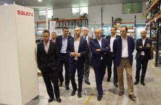El conseller Felip Puig visita l'empresa Salicru a Santa Maria de Palautordera