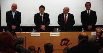 Mas-Colell reclama «llocs de treball qualificats» en l'inici de curs a la URV