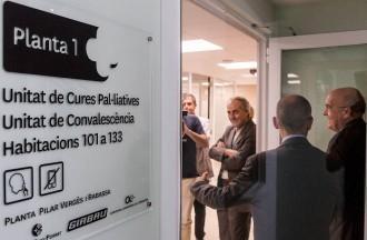 Boi Ruiz inaugura la Unitat de Cures Pal·liatives a l'Hospital de la Santa Creu