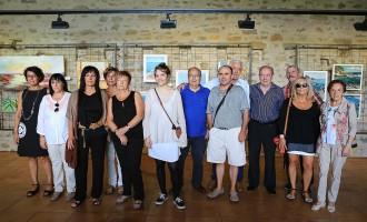 Els artistes del Bisaura exposen al Castell de Montesquiu