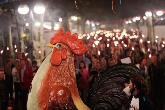Vés a: Òmnium suspèn la marxa de torxes d'Olot per la coincidència amb les Festes del Tura