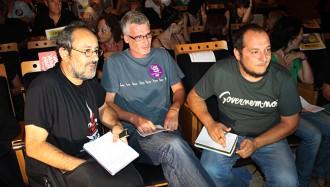 Antonio Baños carrega a Tarragona contra l'«etnicisme» de Pablo Iglesias