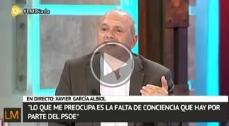 Jordi Fàbrega s'enfronta als tertulians de «La Marimorena» de 13TV