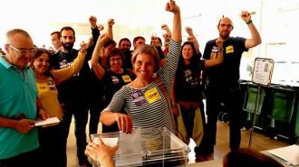 Carme Abril: «M'agradaria que el sí guanye en vots i escons i que la CUP siga decisiva»