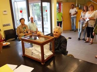 Vota l'àvia més gran de les Masies de Roda