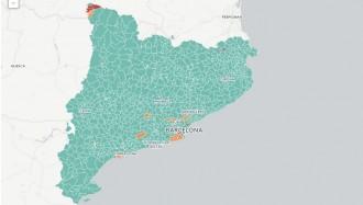 MAPA Qui ha guanyat les eleccions a cada municipi de Catalunya?