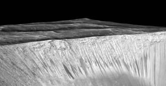 La NASA troba aigua líquida a Mart