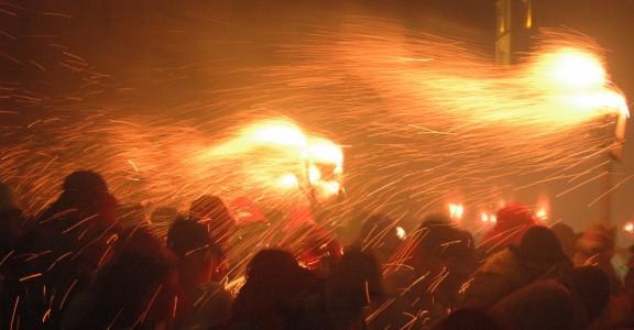 La Festa Major de Manresa s'acomiada amb el Correfoc