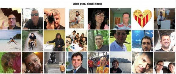 Més de 700 garrotxins es registren com a candidats de Junts pel Sí