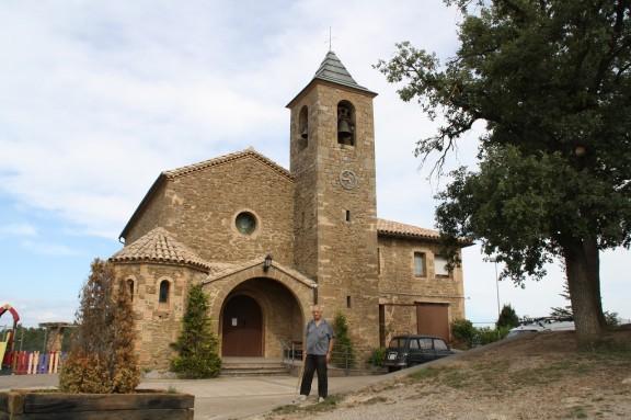 Església de Sant Pere Màrtir i Sant Fermí. Peracamps. Llobera