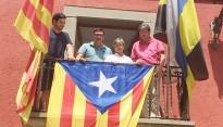 Xavier Vilamala multa quatre regidors de CiU per hissar l'estelada a l'Ajuntament