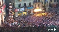 El vídeo del primer 4de9f carregat pels Xiquets de Reus