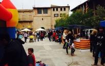El comerç de Santpedor liquiden la temporada a la Fira de les Gangues