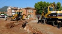 L'escola Collbaix de Sant Joan comença a veure els nous accessos