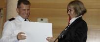 Reconeixen la tasca d'un caporal de la Policia Municipal del Vendrell