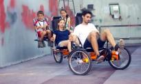 El revolucionari tricicle turístic de quatre places