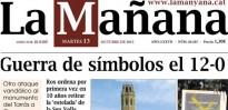 «Guerra de símbols el 12-O», a La Mañana