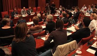 Els nou diputats de Junts pel Sí per Tarragona s'estrenen al Parlament