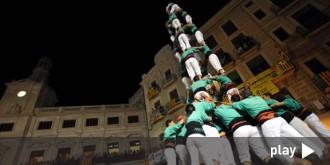 VÍDEO EN DIRECTE La diada castellera del Mercadal