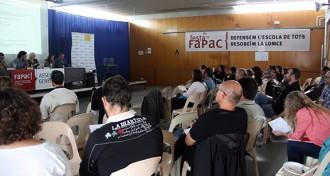 La FaPaC demana al futur govern compromís per derogar la LOMCE