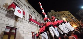 El Mercadal veu set castells de nou i sis de superiors