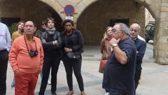 Vés a: Horta de Sant Joan rep la visita de Claude Ruiz-Picasso