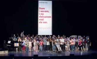 Ampans rep el IX Premi Solidaris ONCE Catalunya 2015