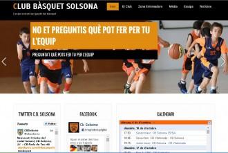 El CB Solsona renova la seva web