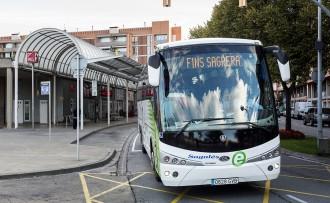 Transports garanteix l'enllaç ràpid a Vic dels busos de la Vall del Ges i Manlleu