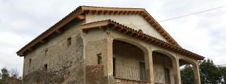 L'Incasòl rehabilita la coberta del Mas Pratdesaba de Malla