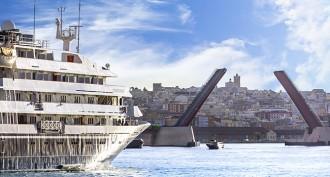 El creuer Corinthian torna a visitar el Port de Tarragona