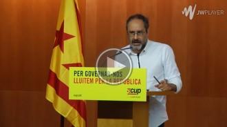 VÍDEO Retransmissió de la conferència política de la CUP a la Pompeu Fabra
