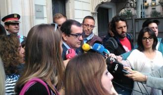 Vés a: Jordi Jané evita la polèmica: «Els Mossos treballen activament en la vigilància de l'AVE»