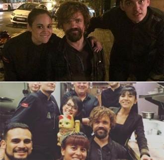 Peter Dinklage, Tyrion Lannister a «Joc de Trons», de passeig per Barcelona