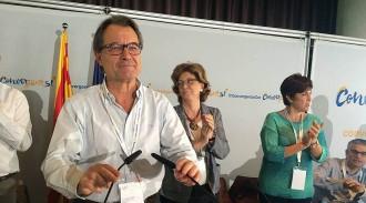 Vés a: Artur Mas defensa confirmar l'èxit del 27-S el 20-D però no concreta si ha de ser amb la fórmula de Junts pel Sí