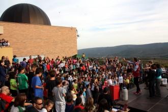 L'èxit de públic podria fer ampliar el programa del Festival Astronòmic del Montsec l'any vinent