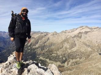 Un lleidatà de només 26 anys completa tots els 3.000 del Pirineu