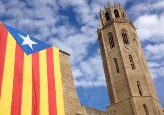 La Paeria obliga a retirar també l'estelada de la Seu Vella de Lleida