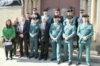 Màxima representació institucional a la Festa de la Guàrdia Civil