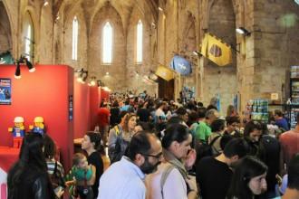 El festival de playmobil Clickània rep 12.500 visitants durant el primer cap de setmana