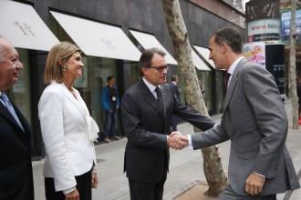 Artur Mas i Felip VI coincideixen en l'inici de les declaracions pel 9-N