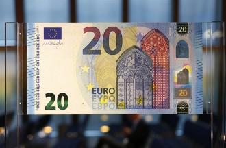 El nou bitllet de 20 euros començarà a circular el 25 de novembre