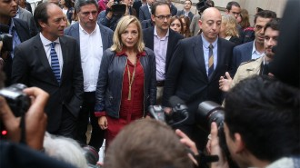 Joana Ortega: «No tinc cap consciència d'haver desobeït el Constitucional»