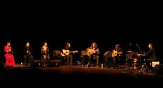 La intimitat familiar de «Tomatito» esdevé un espectacle al Kursaal de Manresa