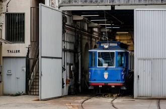 Vés a: «Salvem el Tramvia Blau»: ERC recull firmes per evitar que perilli aquest transport històric