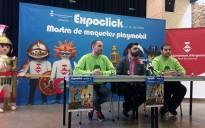 Diorames fets amb Playmobil i una desena de punts de venda a la mostra Expoclick d'Amposta