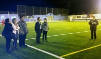 Móra la Nova inaugura el camp de futbol de gespa artificial
